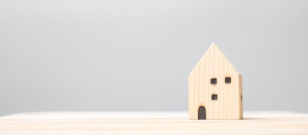 목조 주택 모델