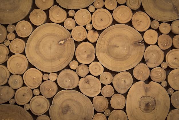 Деревянное поперечное сечение для фона и текстуры