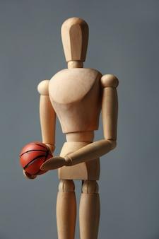 농구 공 나무 마네킹
