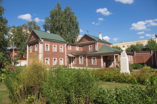 Деревянный усадебный дом россия 19 век