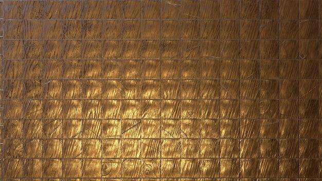 木製の金属ブロックのテクスチャ