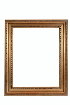 Wooden old picture frames