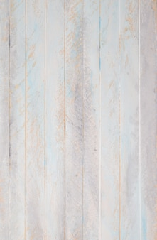 Wooden pastel background painted blue and white