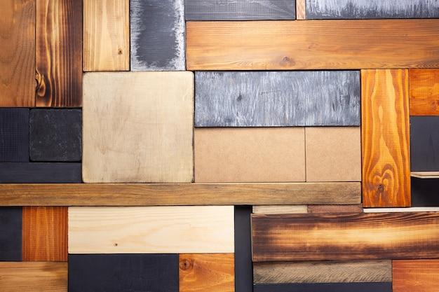 Деревянная дощатая стена или настольная доска в качестве фоновой текстуры