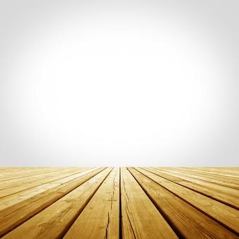 Wooden platform