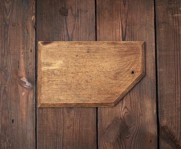 Wooden rectangular cutting board
