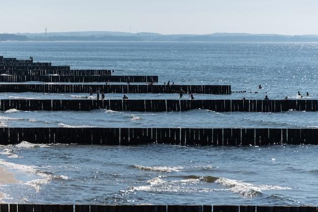 Деревянный морской сепаратор