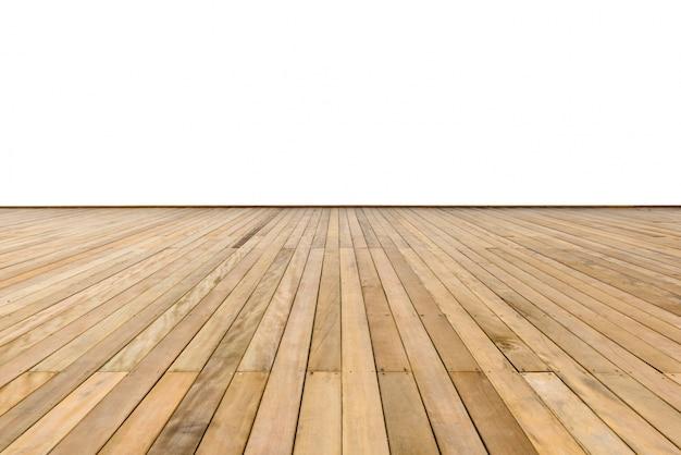 Wooden sidewalk