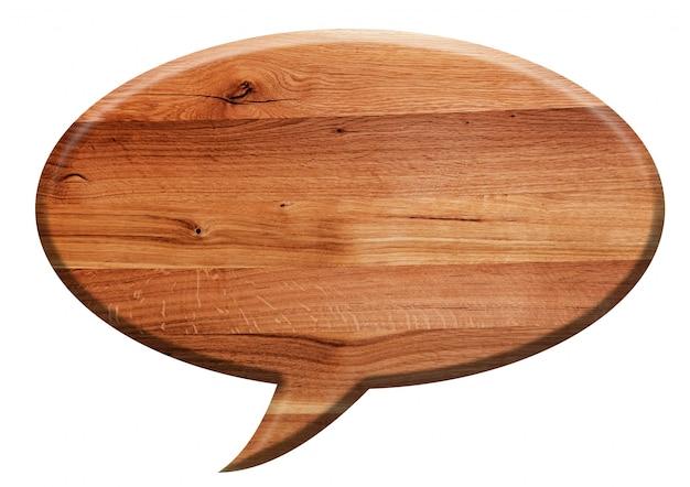 シンボルと木の看板