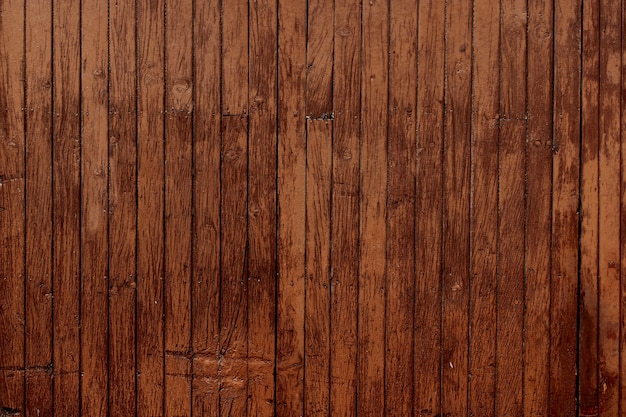 Wooden slats background