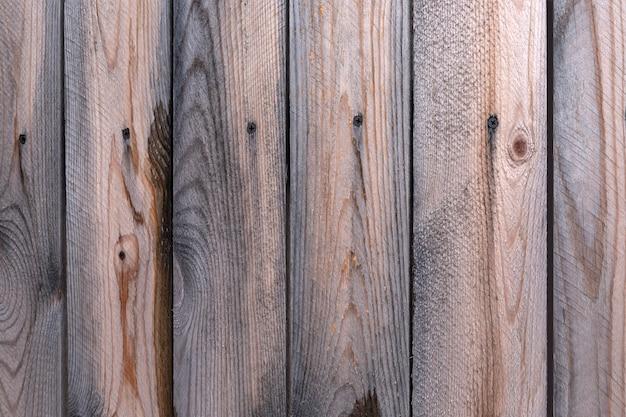 Деревянная поверхность из старых коричневых досок текстура древесины с копией пространства