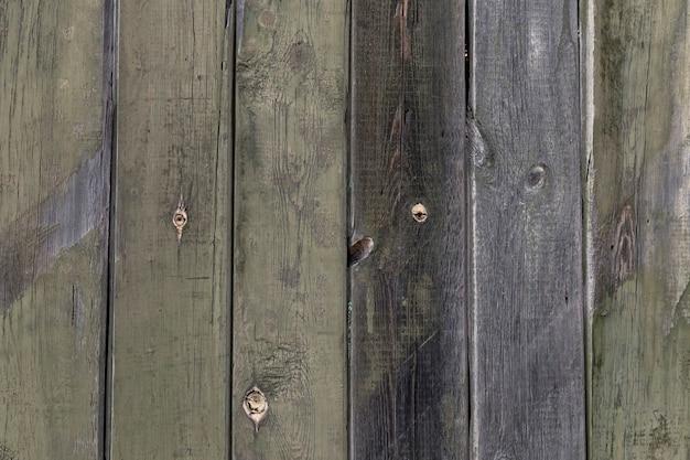 Деревянная поверхность из старых зеленоватых досок текстура древесины с копией пространства