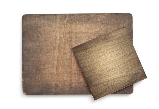 白い背景で隔離の木製の表面テクスチャ