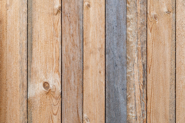 Wooden surface wall
