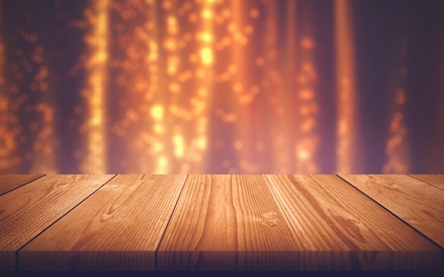 Wooden table. empty board. wood texture