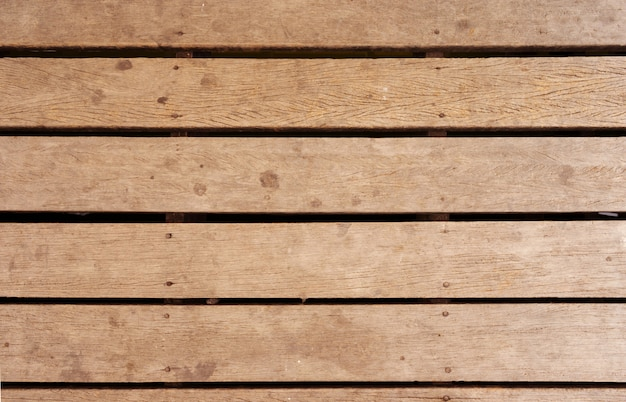 Wooden terrace old texture background