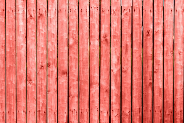 Wooden texture of living coral color