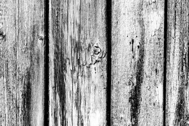 Деревянная текстура серого цвета с царапинами и трещинами