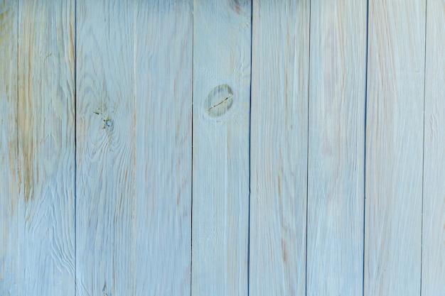 木の質感。背景として木製の垂直パネルの古い青のテクスチャ。