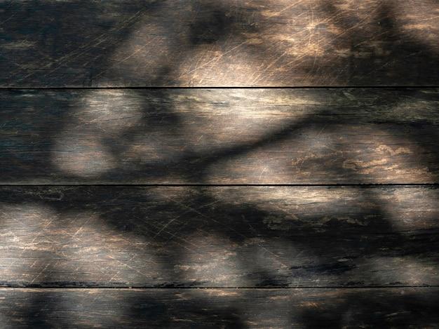 Деревянная поверхность текстуры с тенями