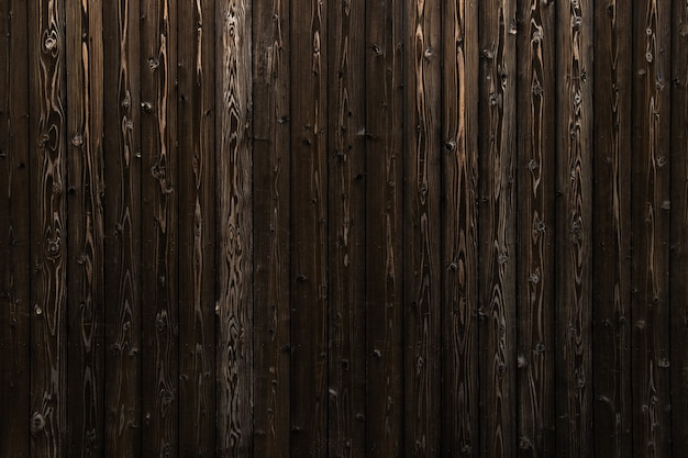 Wooden wall of old house in japan