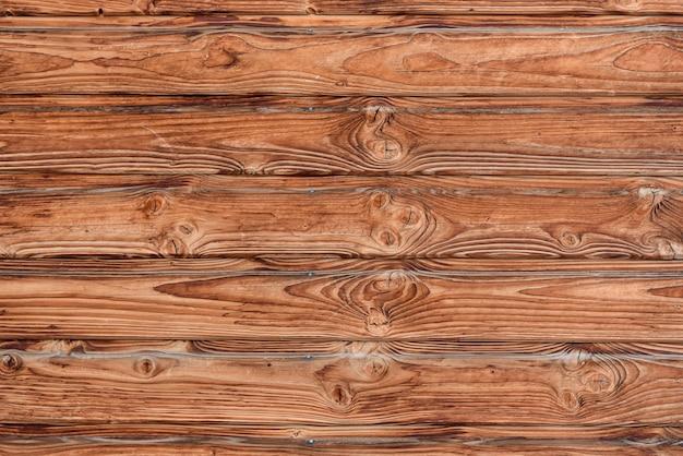 木製の壁自然な木の質感。コピースペースのある素朴なボード。