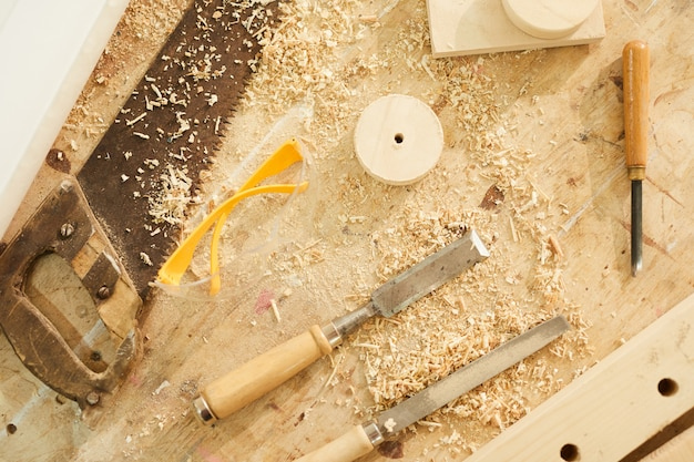 Woodworking station background