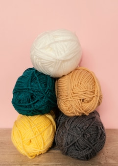 Wool collection for knitting