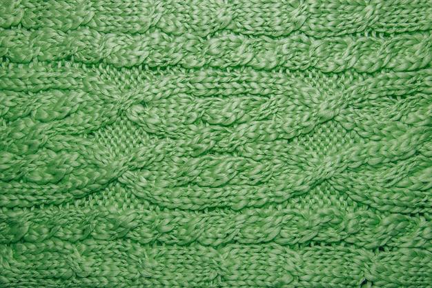 Wool hand-knitted or machine knitting pattern.