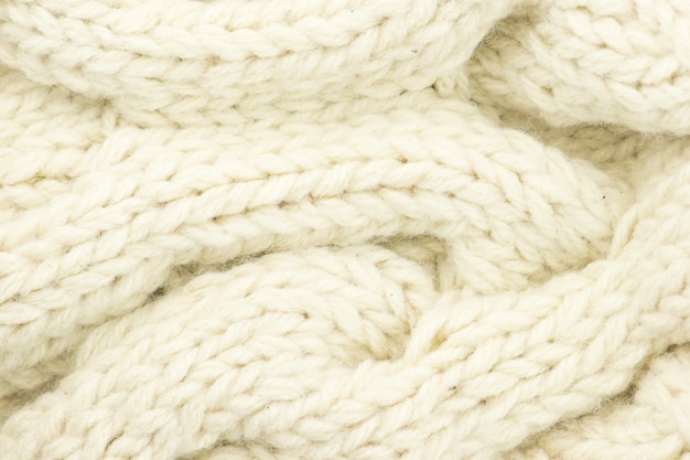 Wool knitted background.