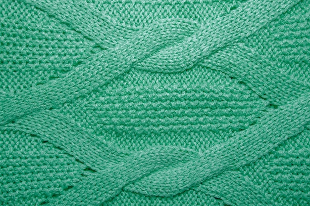 Текстура шерстяной свитер крупным планом
