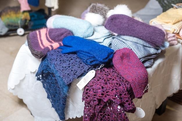 Зимняя одежда из шерсти