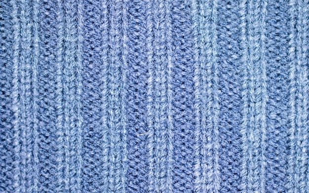 Woolen fabric texture close up