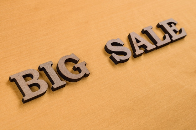 Word big sale abstract wooden letters