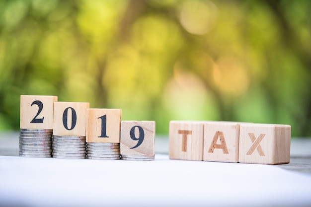 Word block tax 2019
