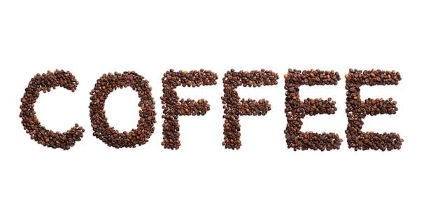 ココア豆の焙煎で作られたコーヒー