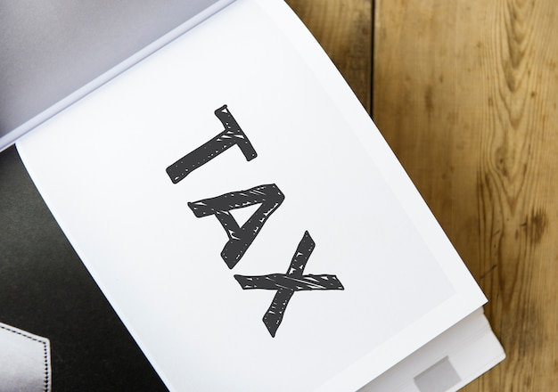책에 단어 세금