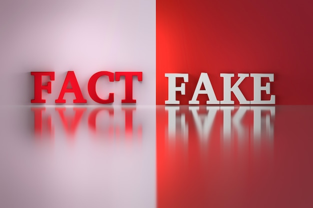 Words - fact and fake