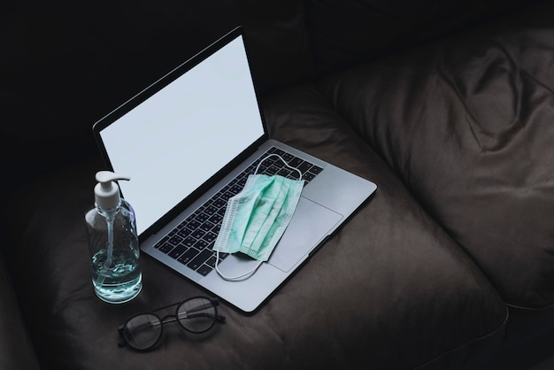 Working from home during coronavirus pandemic