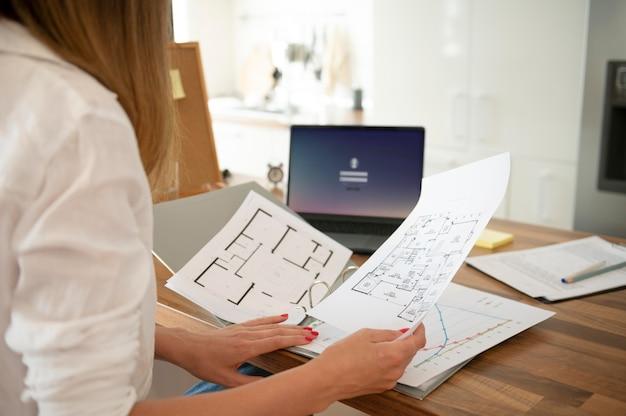 Концепция управления рабочим временем из дома