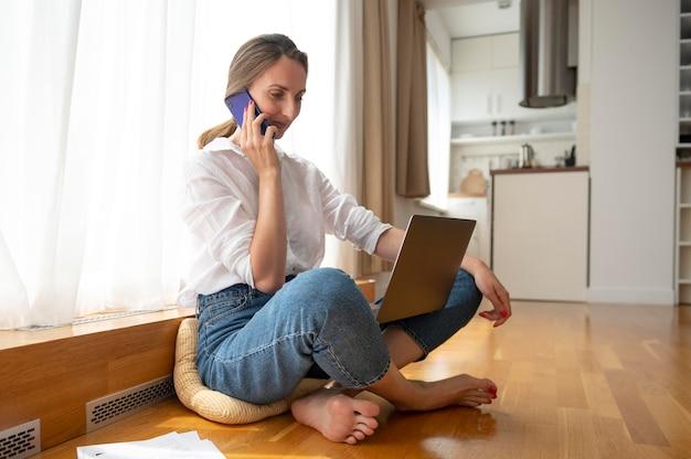 在宅勤務の時間管理の概念