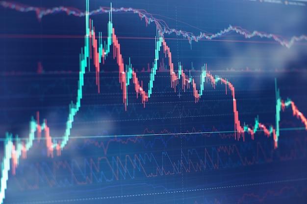 財務統計を分析し、市場データを分析するためのワーキングセット。ビジネスおよび財務の概念とレポート用。