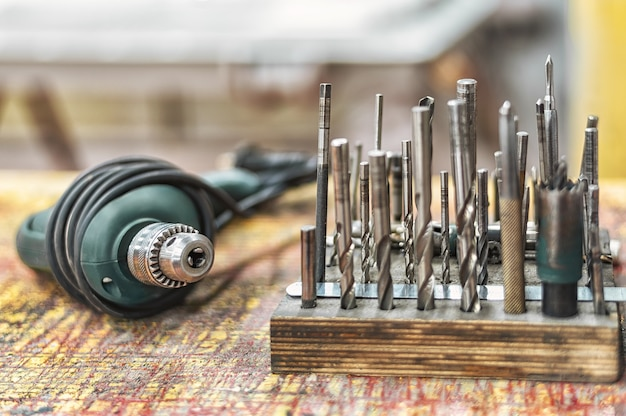 The working tool of a locksmith or carpenter