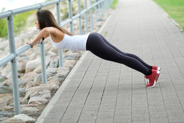 Workout on the street