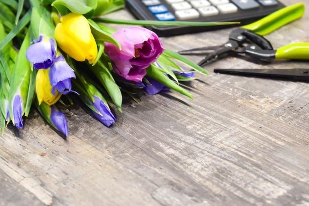 Workplace florist.
