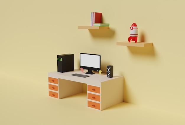 3d-рендеринг рабочей области