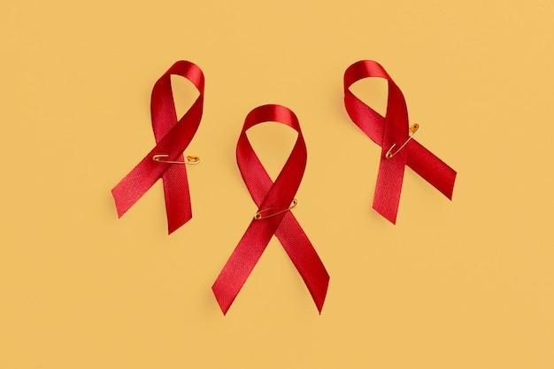世界エイズデーのコンセプトアレンジメント