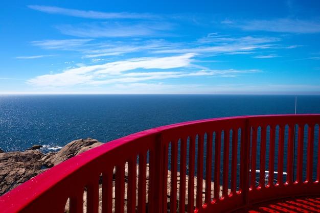 ノルウェー南部にある世界的に有名なリンデスネス灯台