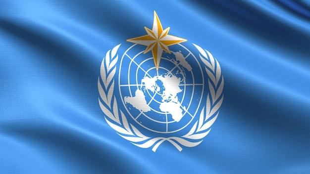 World meteorological organization flag