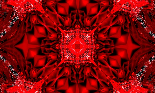 世界赤十字、赤の背景に赤十字のシンボルのkaleidoscopイラスト